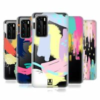 HEAD CASE DESIGNS ABSTRACT STROKES SOFT GEL CASE FOR HUAWEI PHONES