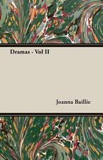 Dramas - by Joanna Baillie (2007, Paperback)