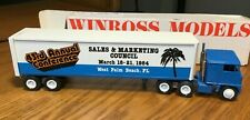 Winross White 7000  SMC - 1984  43rd Annual Conference Tractor/Trailer 1/64