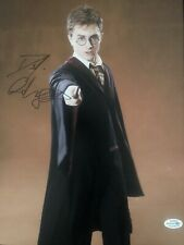 Daniel Radcliffe Signed Harry Potter 11x14 Photo AFTAL ACOA