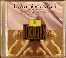 2 CDs DGG Great Works for Cello and Orchestra 1994 ROSTROPOVICH Karajan 5272093