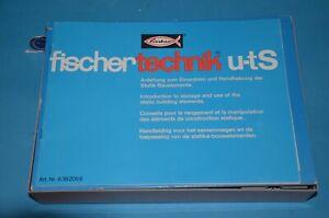 Fischertechnik Statik Hobby UT S.  / Hobby S.