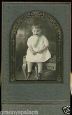 Antique Photo in Folder, Montrose CO-Very Cute Child-Bowl Haircut-Sharpe Photo