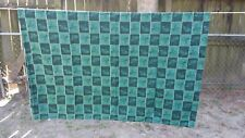 "Green Holly Christmas Plaid Rectangle 62""X47"" Tablecloth Free Shipping"