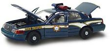 New In Box 1/43 Diecast O Scale Ford Crown Victoria Nevada Highway Patrol