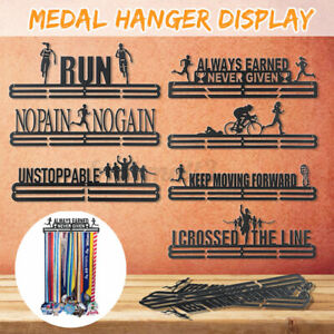 Durable Metal Steel Medal Holder Hanger Display Rack Ideal For Running Spor