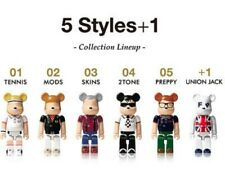 FRED PERRY Lipton Japan 70% BE@RBRICK BEARBRICK FIGURE Set 6 KUBRICK UNION JACK