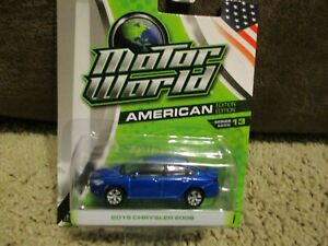 Greenlight Motor World American edition series 13, 2015 Chrysler 200s