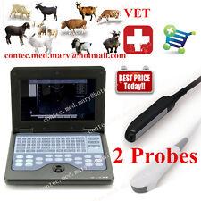CE, ecografo veterinaria, macchina diagnostica portatile, CMS600P2 + 2 sonde