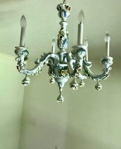capodimonte porcelain chandelier