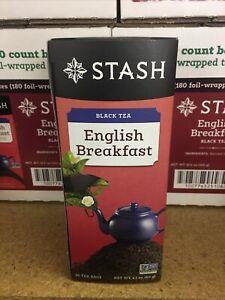 Stash Tea- English Breakfast black tea 6/30 pack