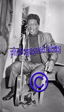 Muddy Waters, dressing room portrait - 8x12 inch original Photograph