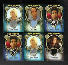The Guild Seasons 1, 2 & 3 LOT of 13 wardrobe material costume cards