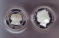1999 $1 Majestic Images Silver Proof Coin Set Royal Queen Elizabeth 11