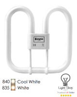 Crompton 2D Compact Fluorescent 16W OR 28W 2PIN/4PIN 835/840 10,000hr lamp life