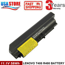 "Battery for IBM Lenovo ThinkPad R61 T61 T400 R400 Series 14.1"" Widescreen FAST"
