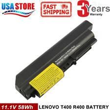 "Battery for IBM Lenovo ThinkPad R61 T61 T400 R400 Series 14.1"" Widescreen FAST"