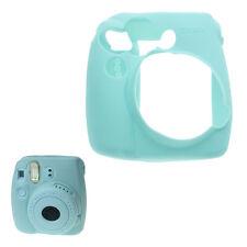 Soft Silicone Skin Cover Jelly Shell Case for Fujifilm Instax Mini 9/8/8+ -Blue