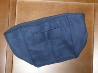 Longaberger CORNFLOWER fabric LINER for Small KEY Basket ~ New