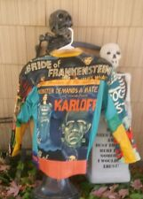 Vintage BRIDE OF FRANKENSTEIN Boris Karloff Humphry Bogart Poster Leather Jacket