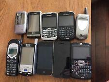 10 Cell phones iPhone blackberry Samsung look