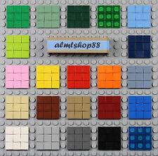 LEGO - 1x1 Square Tiles - PICK YOUR COLORS Smooth Finishing Flat Mosaic Bulk Lot