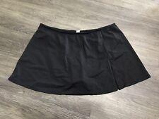 Women's Newport News Black Swimsuit Skirt Size 12