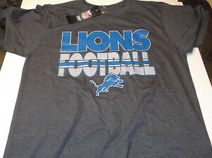 Detroit Lions   NFL Team Apparel shirt by Majestic  M