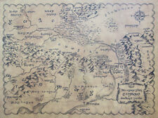 Lord Of The Rings GONDOR MAP by Magnoli Clothiers
