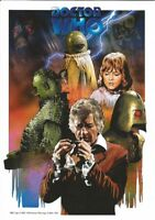 Doctor Who Official 'CURSE OF PELADON' A4 Art Print - NEW