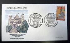 MADAGASCAR  464   PREMIER JOUR FDC      PRESIDENT TSIRANANA       20F       1969