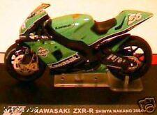 BIKE MOTO GP KAWASAKI ZXR-R NAKANO 2004 GREEN 1/24 1:24
