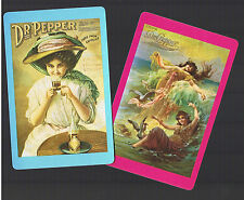 Playing Swap Cards 2  SEMI  VINT  DR  PEPPER  LADIES  W189   GREAT CARDS