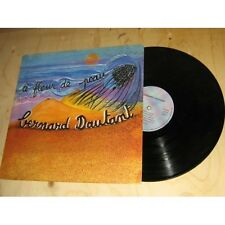 BERNARD DAUTANT à fleur de peau CHANSON PRIVATE press Lp 1980's