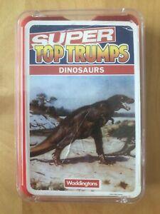 Super Top Trumps - Dinosaurs. Waddingtons Vintage. Free 1st class p&p