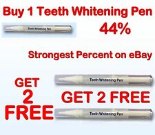 44% Professional Strength Best Gel Teeth Whitening Pen US Seller Free Shipping
