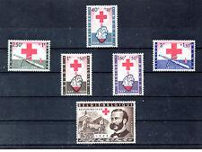 Belgica Cruz Roja serie del año 1959 (BT-167)