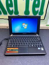 "Samsung 10.1"" Netbook Model NP-N120 Windows 7 BLACK LAPTOP READY TO USE WIFI UK"
