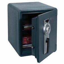 Bolt-Down Combination Waterproof And Fire Resistant Safe First Alert .94 Cu. Ft.