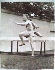 Juegos Olímpicos 1924 Frederick Morgan Taylor ganador de la fotografía obstáculos 400m