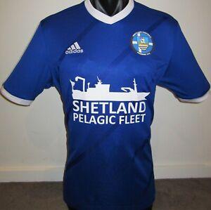 Shetland Islands National Team Adidas #9 Scotland Football Shirt Jersey Soccer L