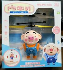 NEW Cute pig Flying Induction Remote Control Helicopter Infrared toys