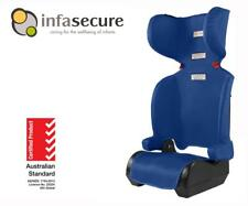 InfaSecure New Versatile Folding Booster Car Seat 4-8 year Kid Child Infant Blue