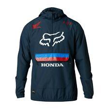 FOX RACING OFFICIAL LICENSED TEAM HONDA SAVAGE ANORAK jacket motocross mx NAVY