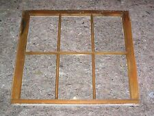 Old vintage 6 pane 8 x 11 White Wood Window 2 missing panes Tt6-2M-W-30