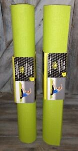 2 Athletic Works Yoga Mat Green  GREAT MAT
