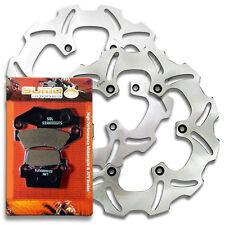 Yamaha F+R Brake Rotor + Pads YZ 125 YZ 250 2T [03-07] YZ250F YZ 450F 4T [03-07]