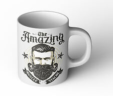 Amazing strong Beard Tasse Cup Becher Fun Geschenk neu Bart Retro Vintage