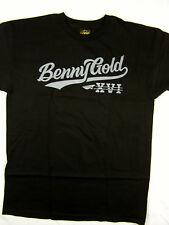 Benny Gold SF XVI Script black urban tee shirt skate men's size MEDIUM