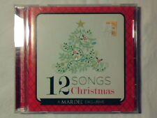 CD 12 songs of Christmas AMY GRANT CHRIS TOMLIN RARO COME NUOVO RARE LIKE NEW!!!